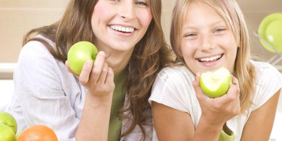 Teenager: Gemeinsame Mahlzeiten haben positiven Einfluss