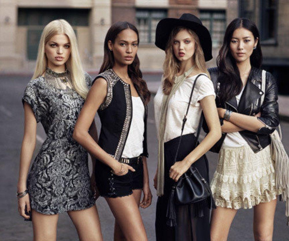 H&M hat vier neue Ikonen