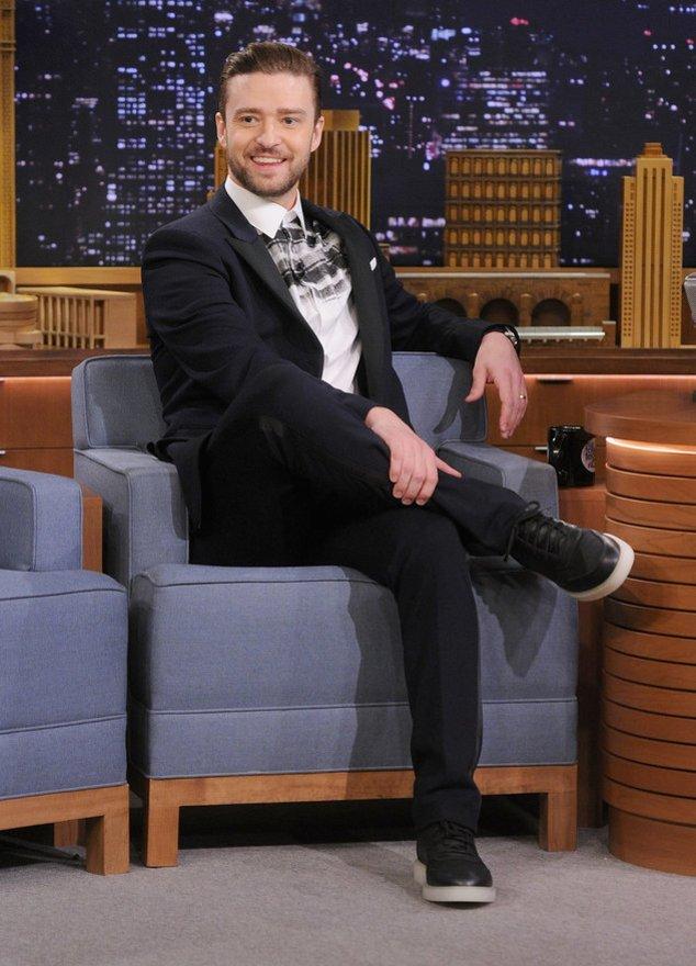 Justin Timberlake bei einem TV-Auftritt