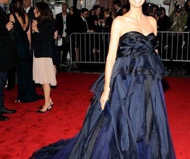 Heidi Klum:Abendkleider in Nachtblau