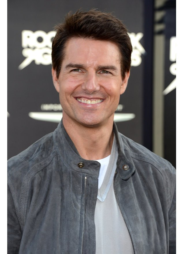 Tom Cruise lächelt