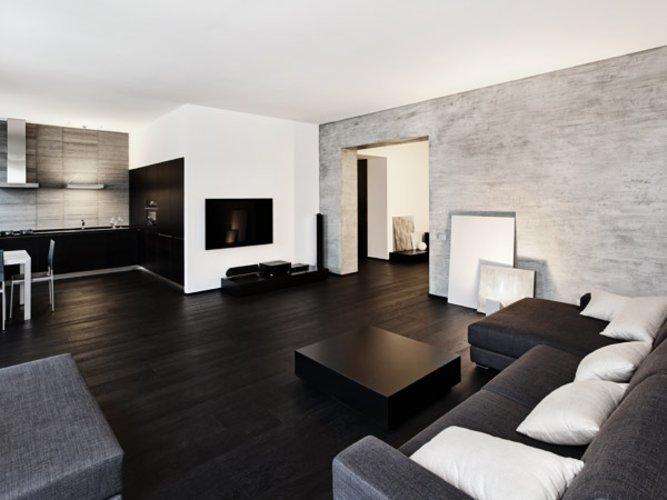 wandfarbe wohnzimmer trend 2016: moderne wandfarben ideen fürs, Wohnzimmer dekoo