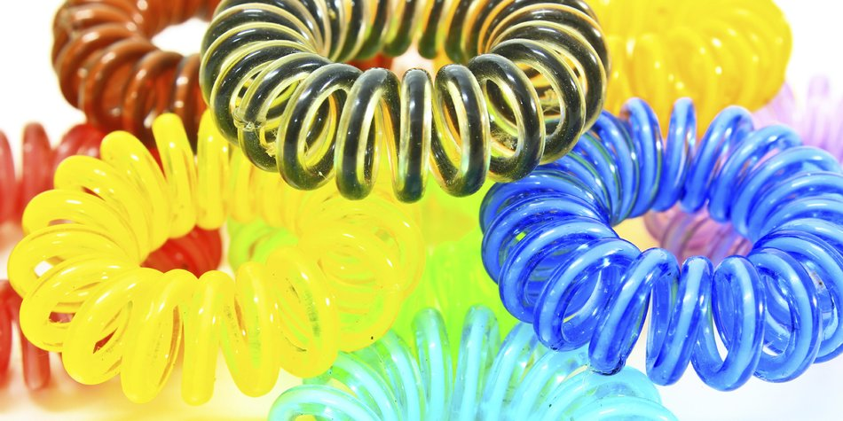 Haargummi Spirale