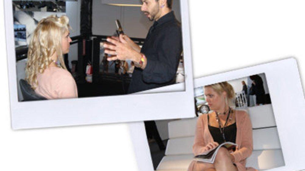 Styling vom Profi bei der Fashion Week New York