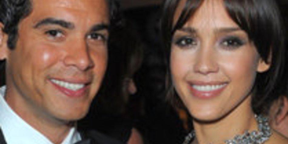 Jessica Alba & Cash Warren sind überglücklich