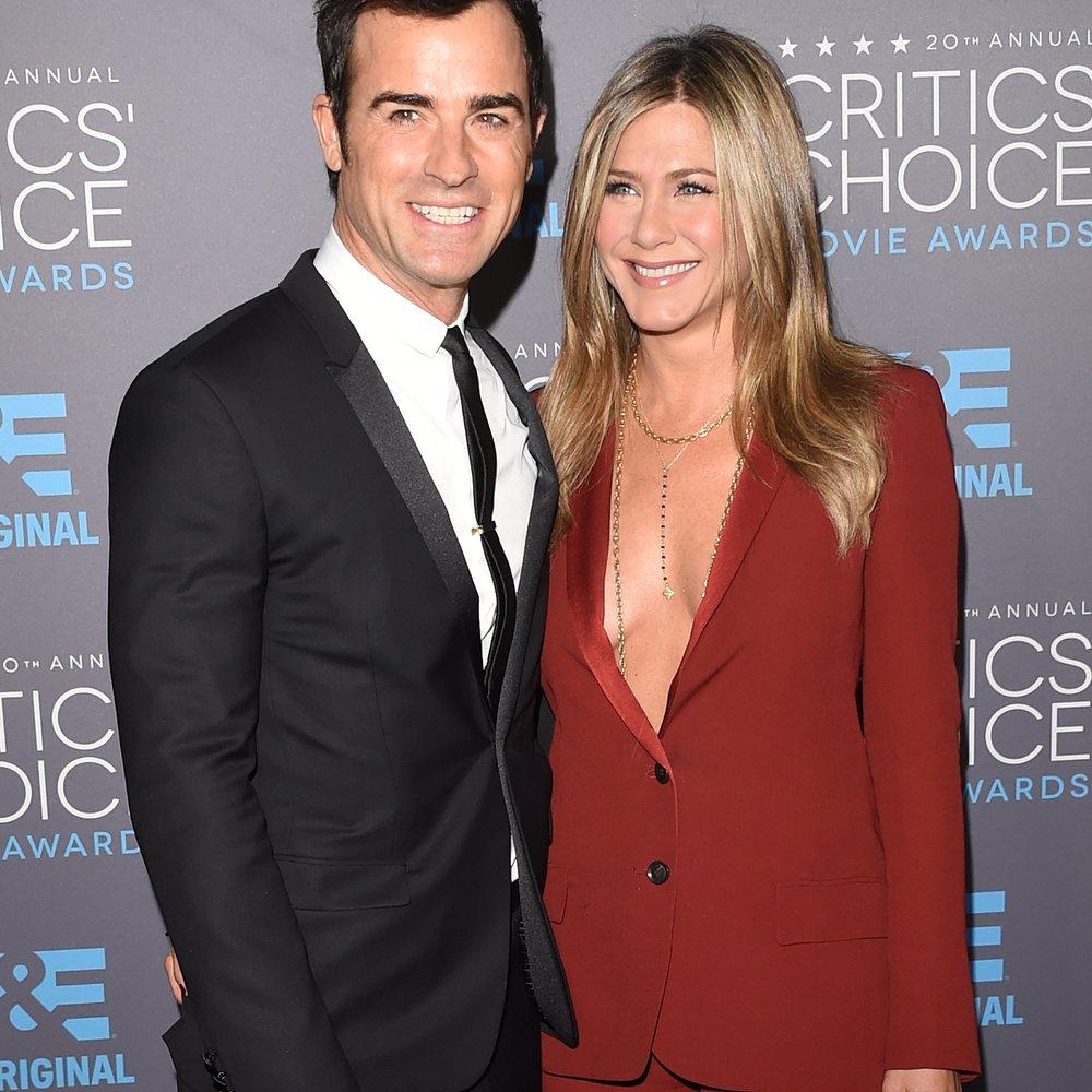 Jennifer Aniston und Justin Theroux wurden von Jimmy Kimmel getraut