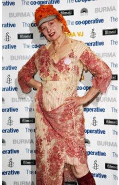 Vivienne Westwood präsentierte auf der London Fashion Week ihre neue Kollektion