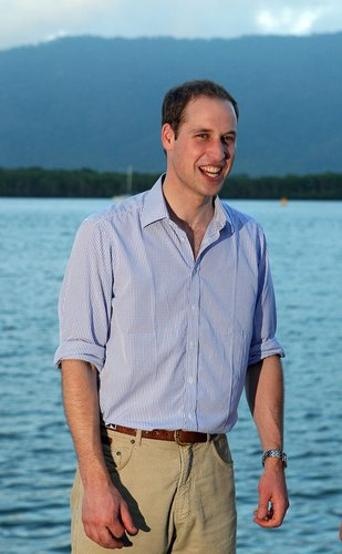 Prinz William besucht Australien