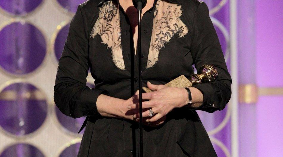 Meryl Streep hält ihre Rede blind