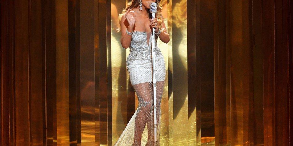 Mariah Carey stolpert sich auf High Heels ins Krankenhaus
