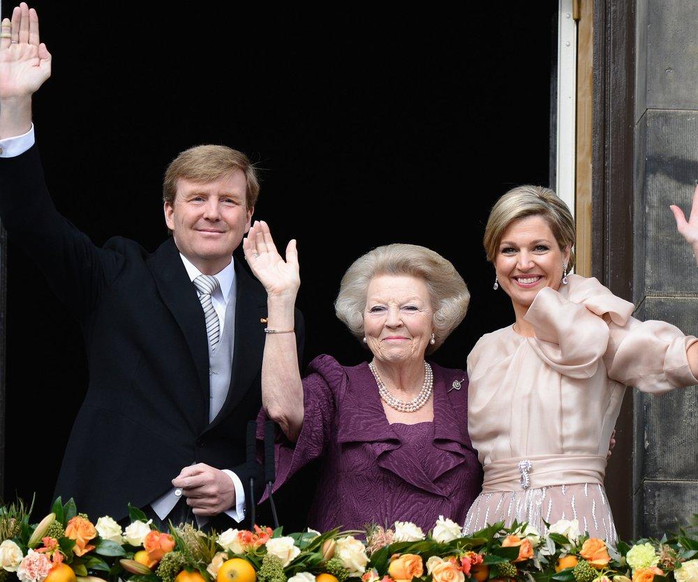 Willem-Alexander und Maxima sind jetzt König und Königin!
