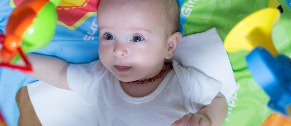 Bernsteinkette Baby