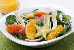 Salat zum Abnehmen zubereiten
