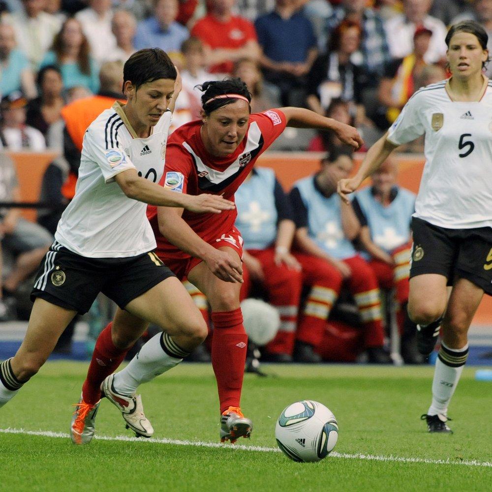 Fußball WM - Deutschland spielt gegen Frankreich
