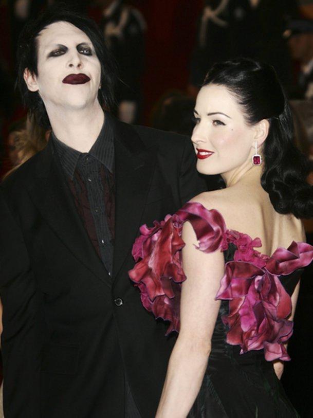 Dita Von Teese und Marilyn Manson