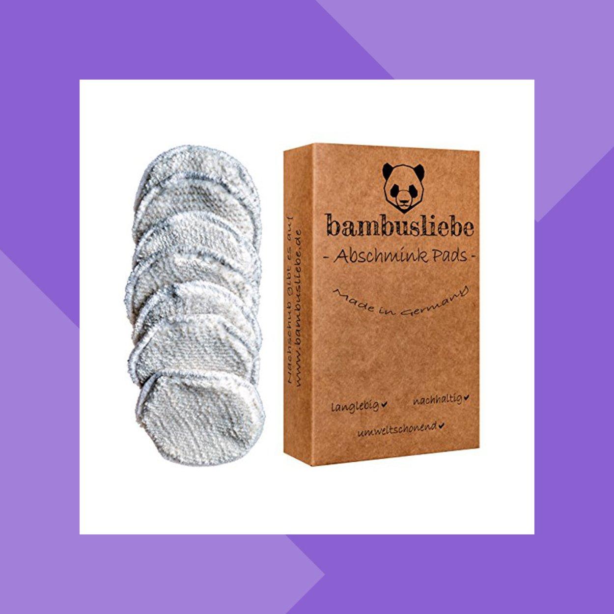 Bambusliebe Abschmik Pads