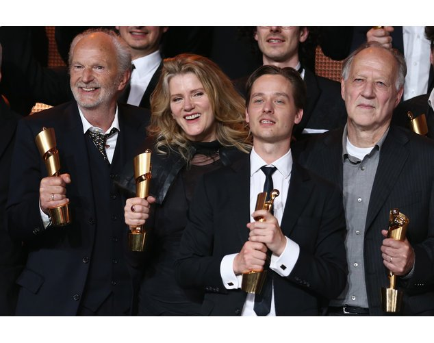 Der Deutsche Filmpreis fand gestern Abend im Friedrichstadt-Palast statt.
