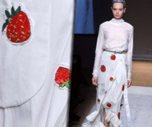 Yves Saint Laurent im Erdbeer-Fieber