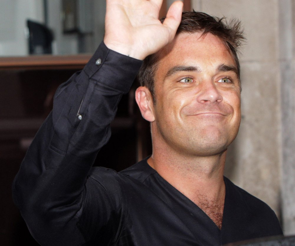 Robbie Williams im Honeymoon