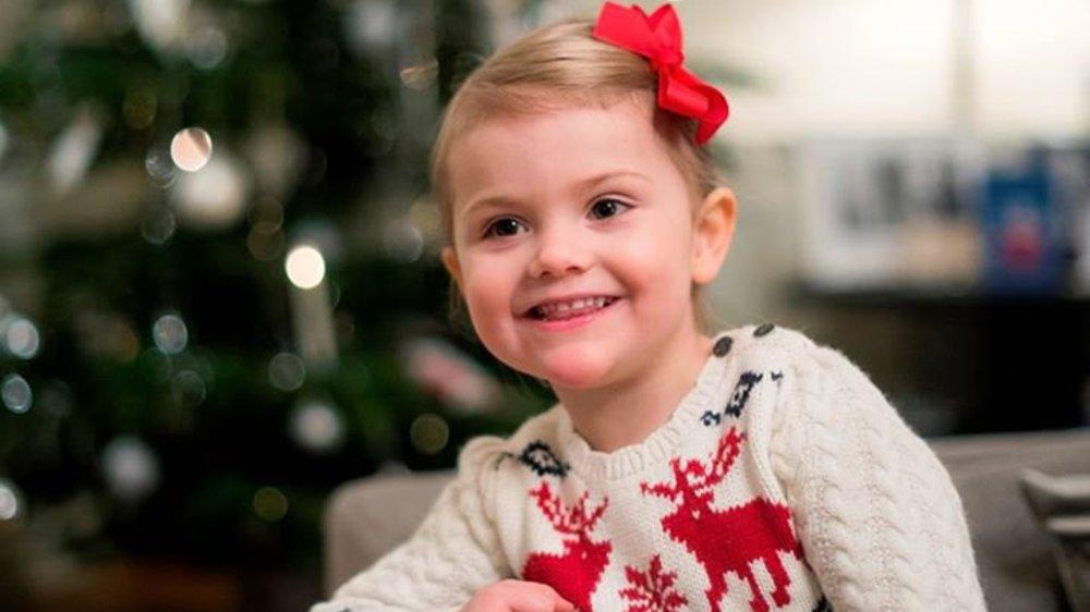 Estelle von Schweden schickt süße Weihnachtsgrüße