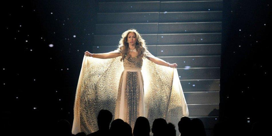 Jennifer Lopez in Angst