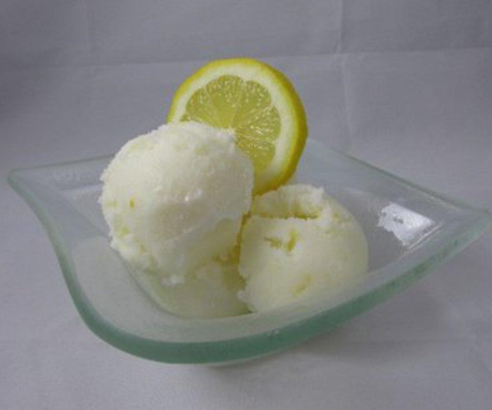 Zitronen-Joghurt Eis