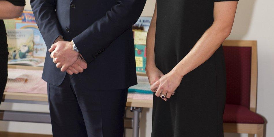 Kate Middleton: Erhöhtes Sicherheitsrisiko für das Baby