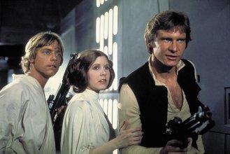 Star Wars Han Solo Leia Luke