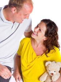 Für die Partnerschaft ist die Schwangerschaft eine tolle Erfahrung.