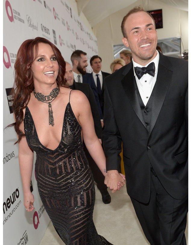 Britney Spears und David Lucado bei einer Party