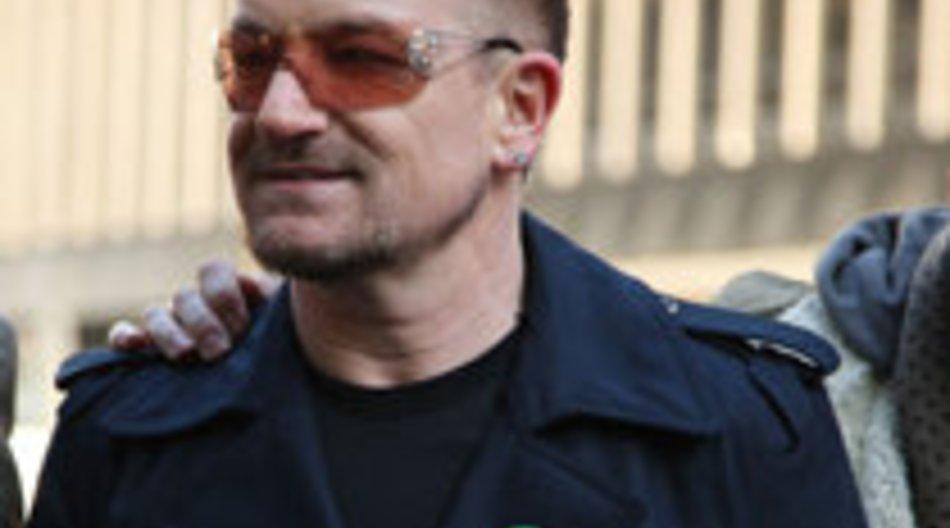 U2 wollen 9 Millionen Dollar spenden