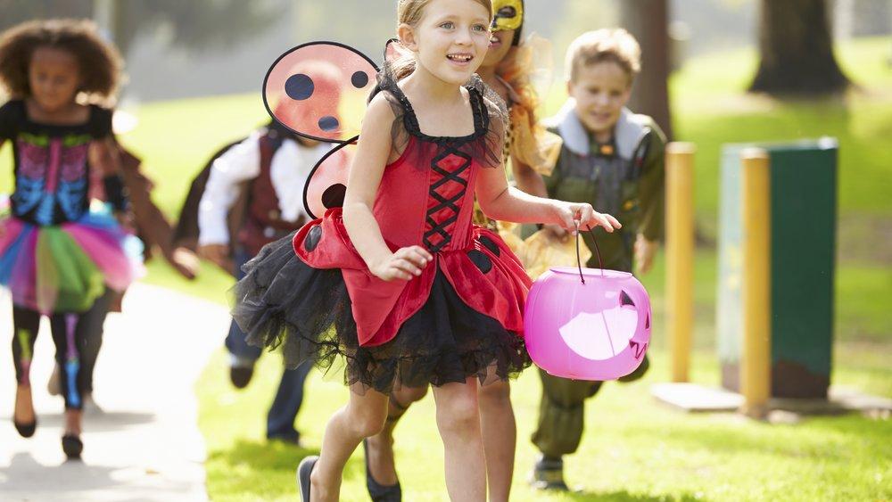 Halloween steht ganz im Zeichen der Kinder