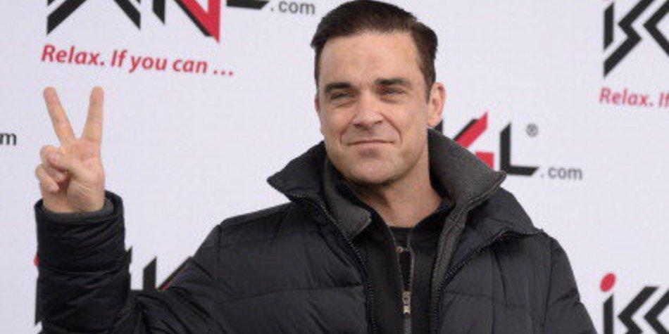 Robbie Williams ist im Baby-Fieber