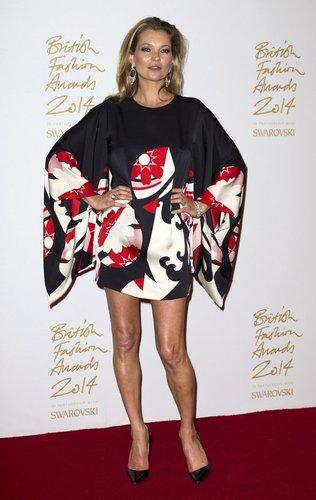 Kate Moss bei einem Fashionaward