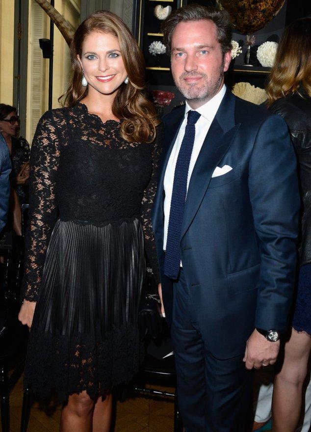 Prinzessin Madeleine und Chris O`Neill bei einem Event in Paris