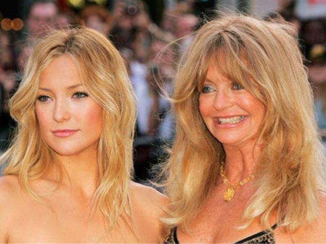 Mutter und Tochter: Goldie Hawn und Kate Hudson