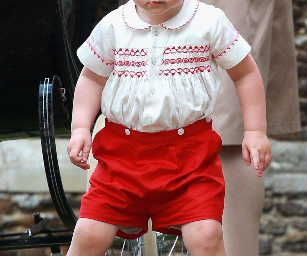Prinz George denkt, er wäre 3!