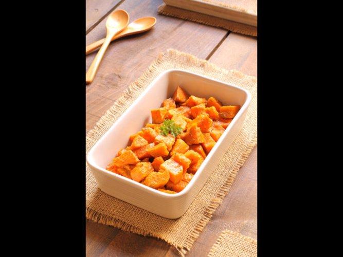 Kandierte Süßkartoffel