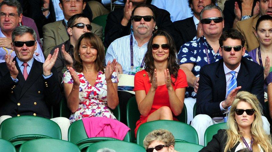 Pippa Middleton mit ihrer Familie.