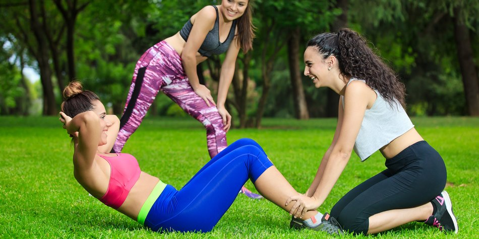 Personal Training im Park