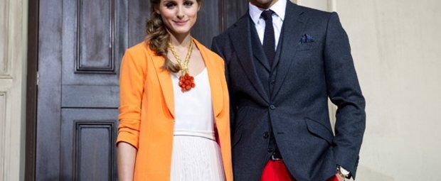 Olivia Palermo und Johannes Huebl