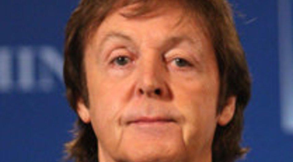 Paul McCartney wird ausgezeichnet