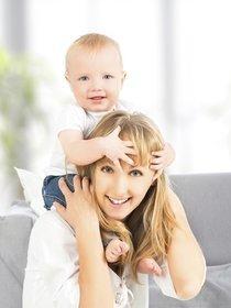 Bald wird Dein Baby krabbeln können