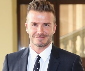 LONDON, ENGLAND - JUNE 22: David Beckham arrives at Buckingham Palace for the Queen's Young Leaders Event on June 22, 2015 in London, England. (Photo by Chris Jackson - WPA Pool/Getty Images)