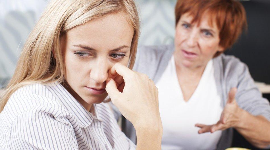 Schwiegermutter nervt