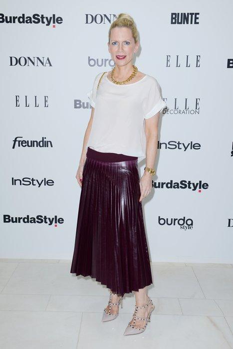 Tamara Gräfin von Nayhauß beim Burda Style Cocktail