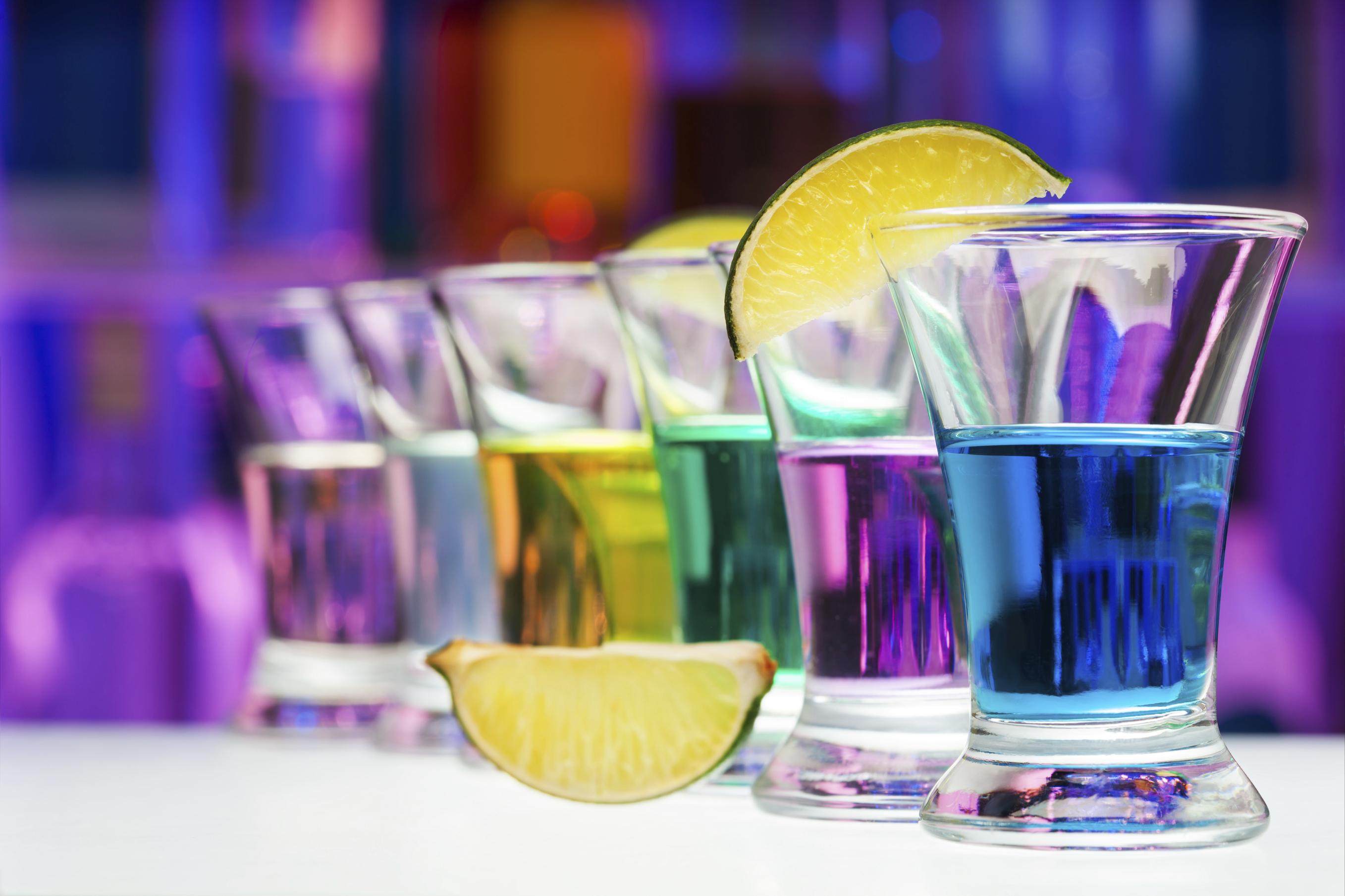 Rainbow Shots: Einmal Regenbogen, bitte!   desired.de