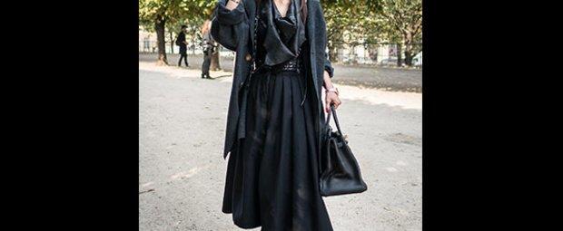Schwarze Kleidung