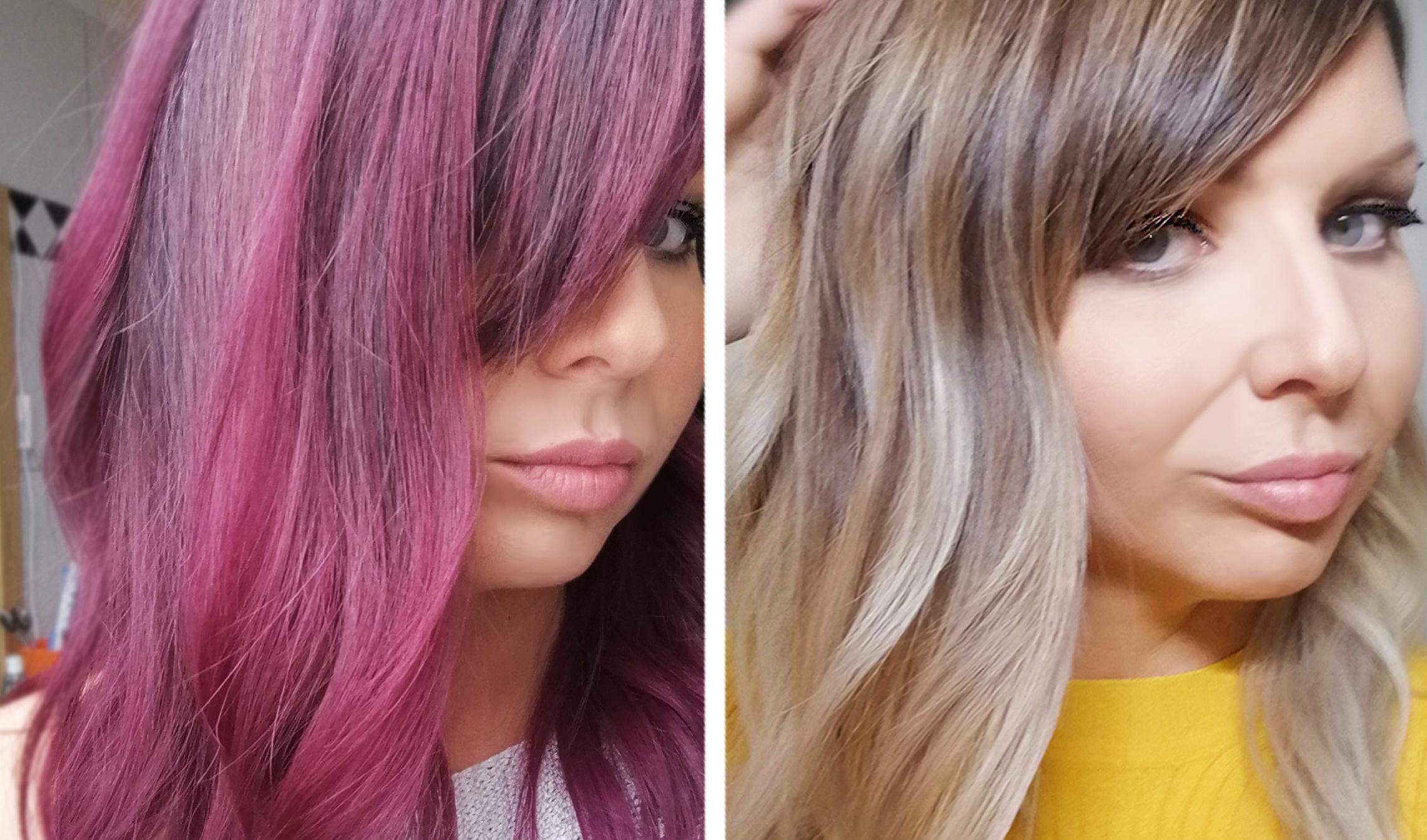 rote haare entfärben