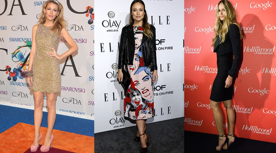 Olivia Wild, Blake Lively, Elle Macpherson